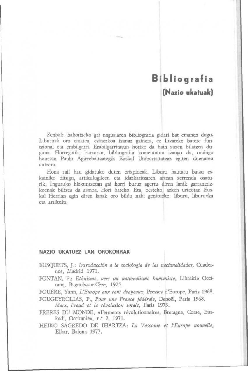 Bibliografia (Nazio ukatuak)