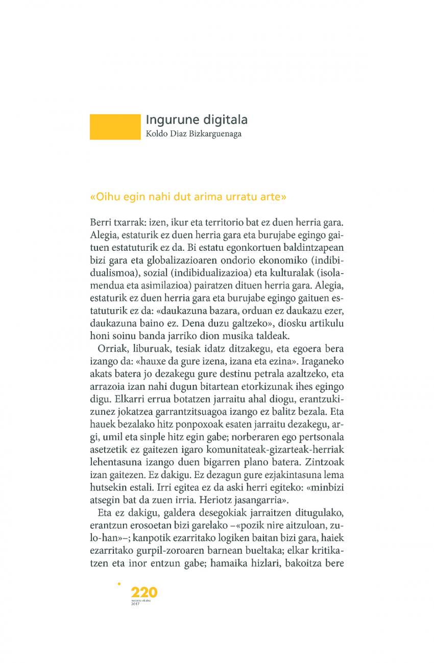 Ingurune digitala