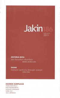 Jakin 186.  2011