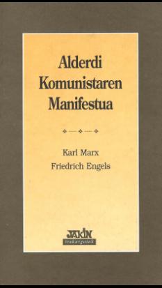 Alderdi komunistaren manifestua