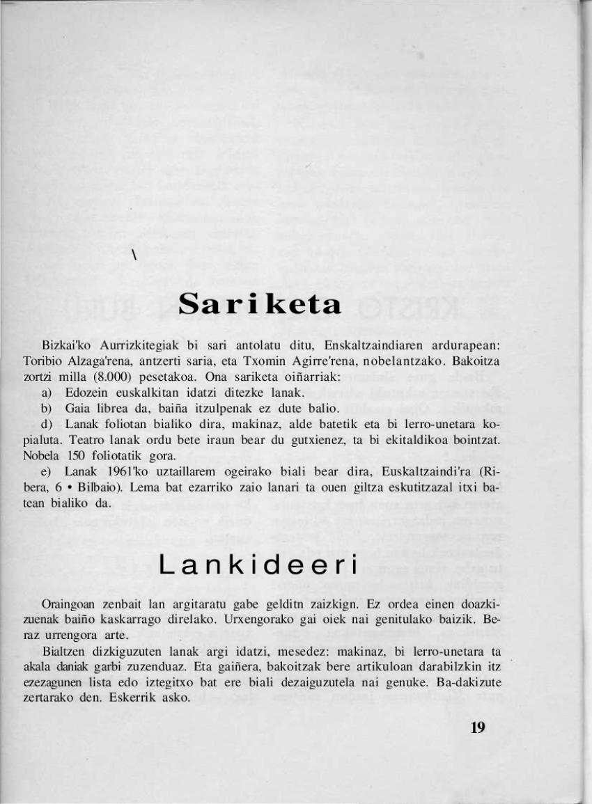 Sariketa