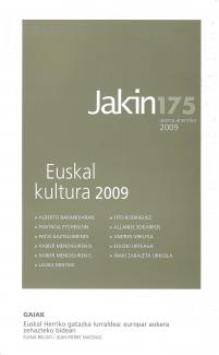 Jakin 175.  2009