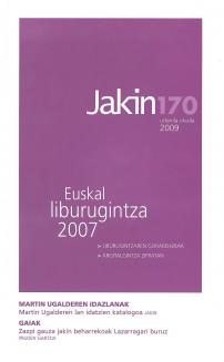 Jakin 170.  2009