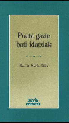 Poeta gazte bati idatziak