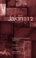 Jakin 212.  2016