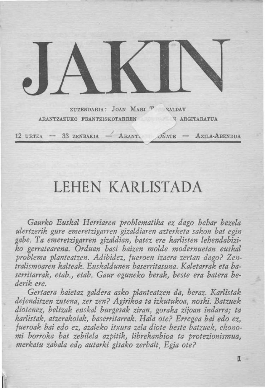 Lehen Karlistada