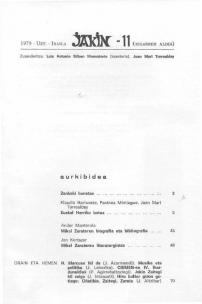 Jakin 11.  1979