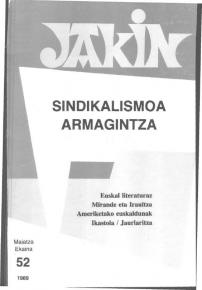 Jakin 52.  1989