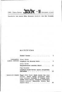 Jakin 16.  1980