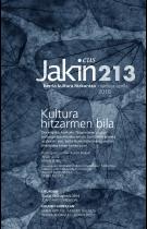 Jakin 213. zenbakia. 2016