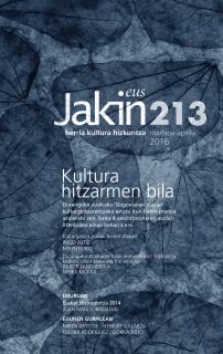 Jakin 213.  2016