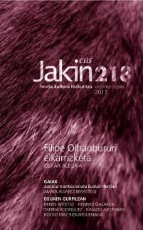 Jakin 218.  2017