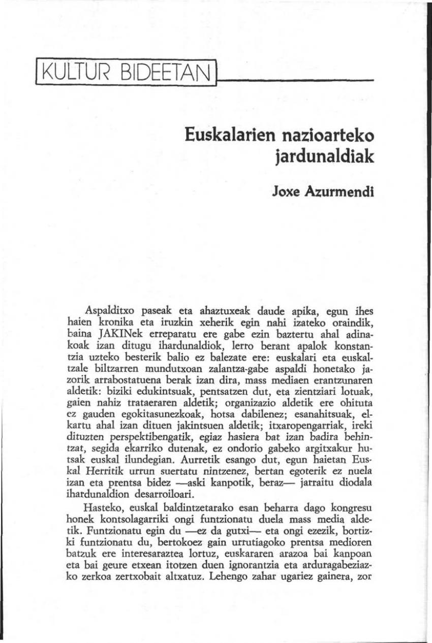 Euskalarien Nazioarteko Jardunaldiak
