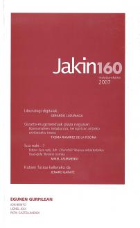 Jakin 160.  2007