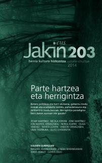 Jakin 203.  2014