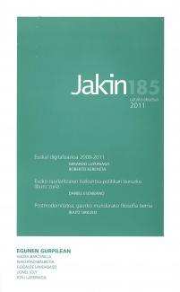 Jakin 185.  2011