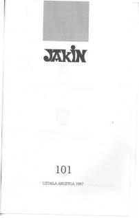 Jakin 101.  1997