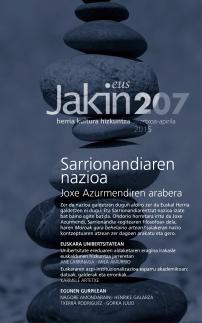 Jakin 207.  2015