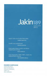Jakin 189.  2012