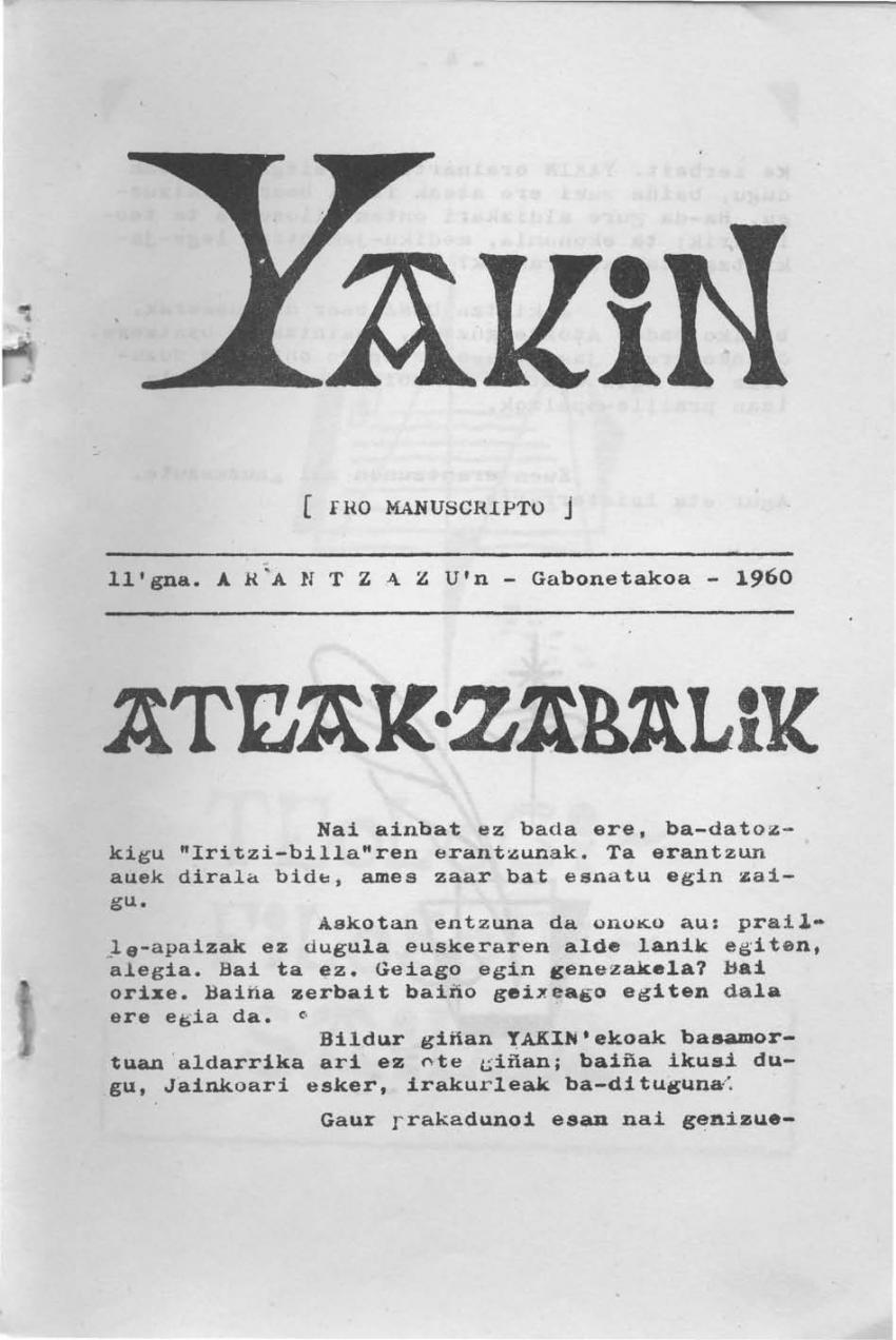 Ateak-zabalik
