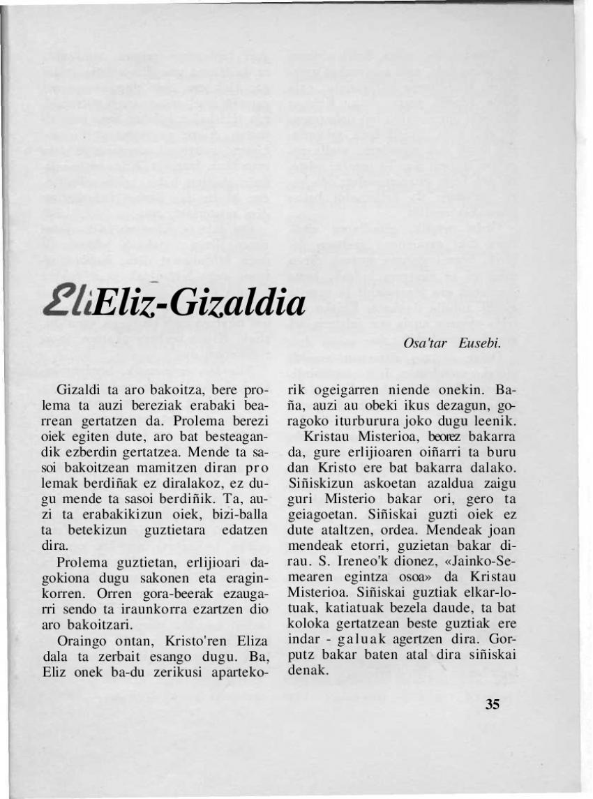 Eliz-gizaldia