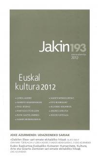 Jakin 193.  2012