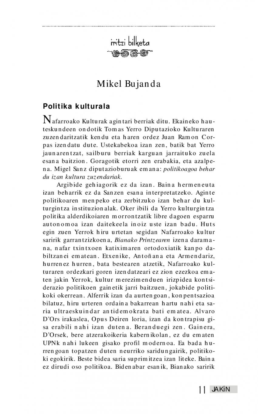 Euskal kultura 1999
