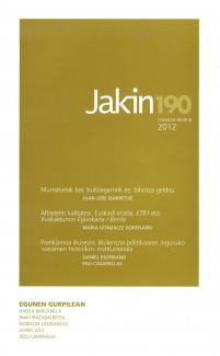 Jakin 190.  2012