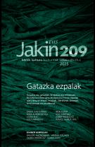 Jakin 209. zenbakia. 2015