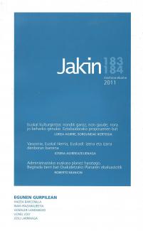 Jakin 183/184.  2011