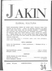 Jakin 34.  1969
