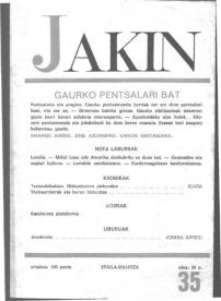 Jakin 35.  1969