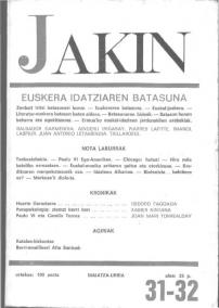 Jakin 31/32.  1968