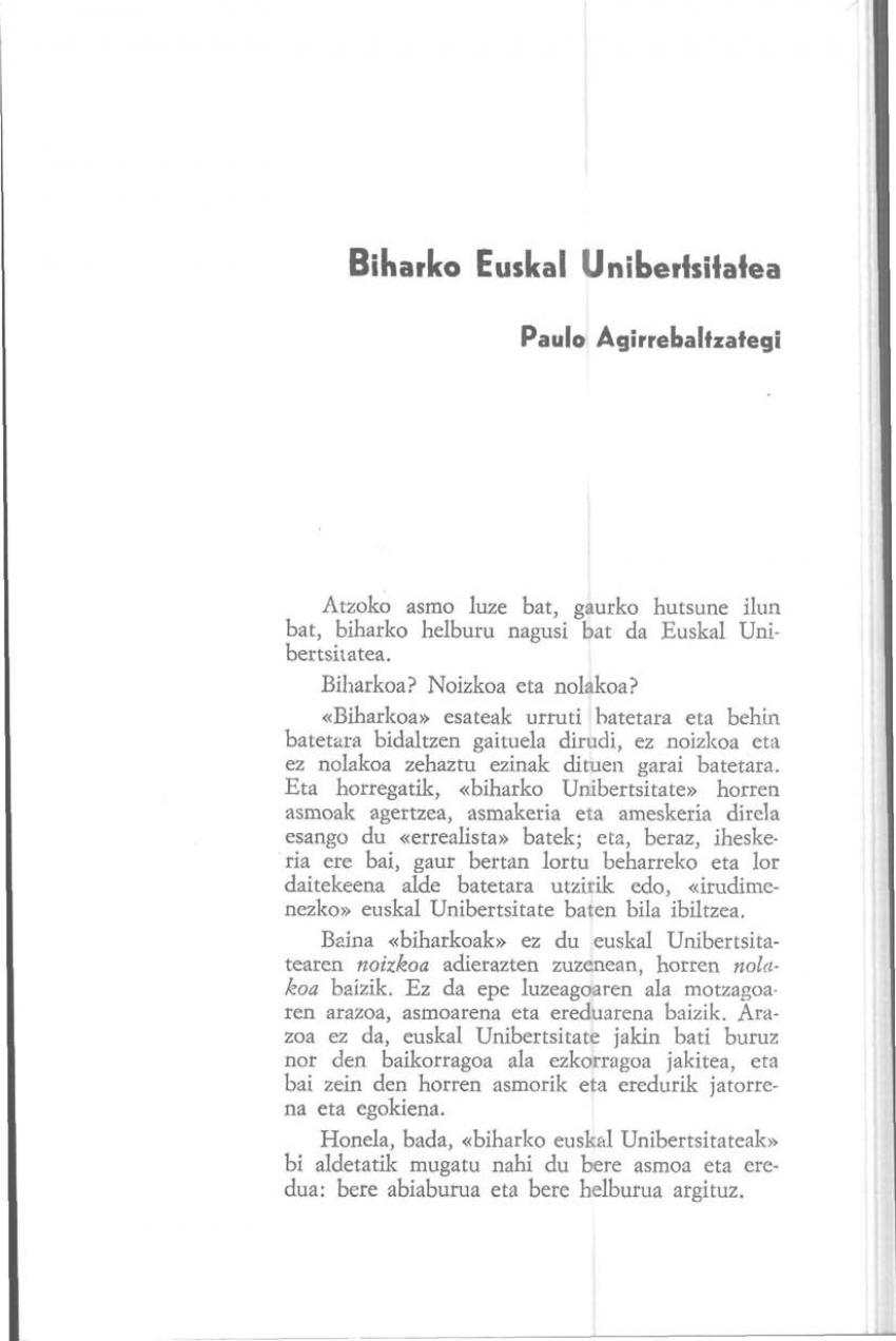 Biharko Euskal Unibertsitatea