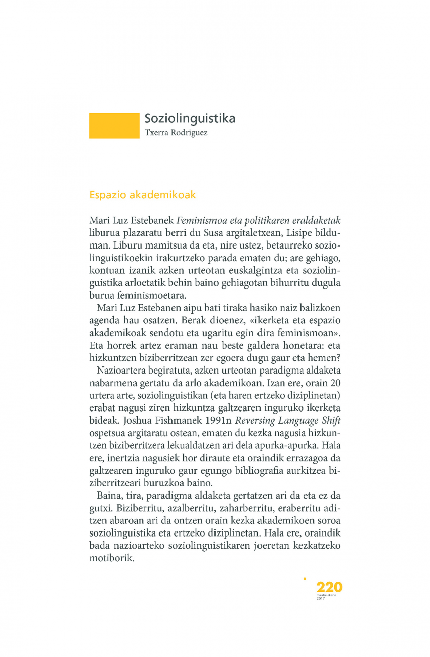 Soziolinguistika