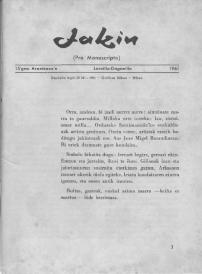 Jakin 15.  1961