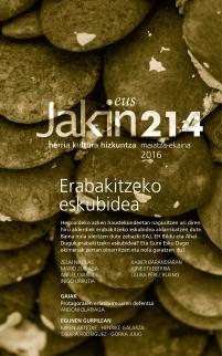 Jakin 214.  2016