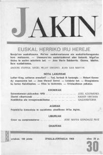 Jakin 30.  1968