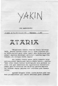Jakin 4.  1957