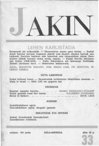 Jakin 33.  1968
