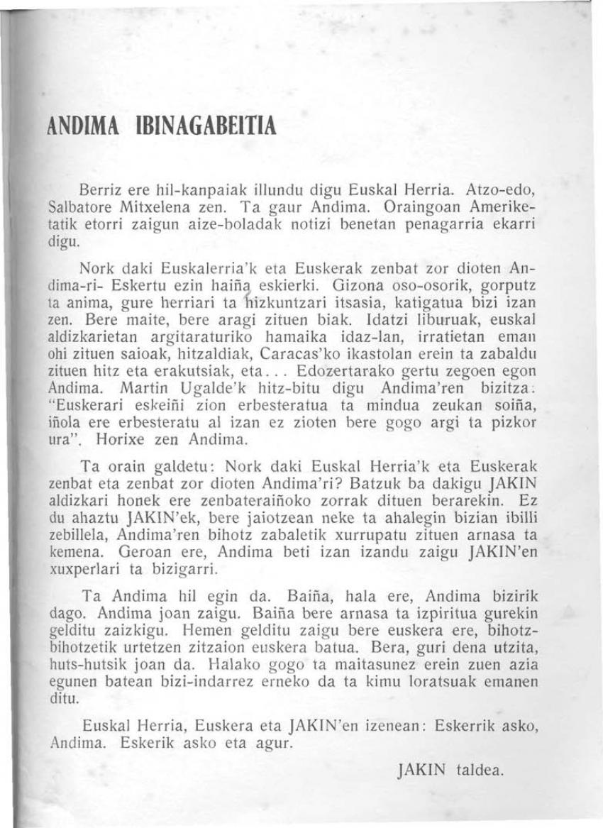 Andima Ibinagabeitia
