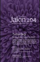 Jakin 204. zenbakia. 2014