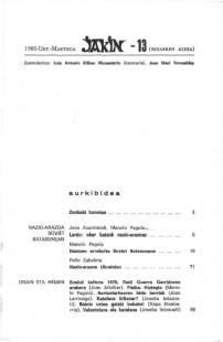 Jakin 13.  1980