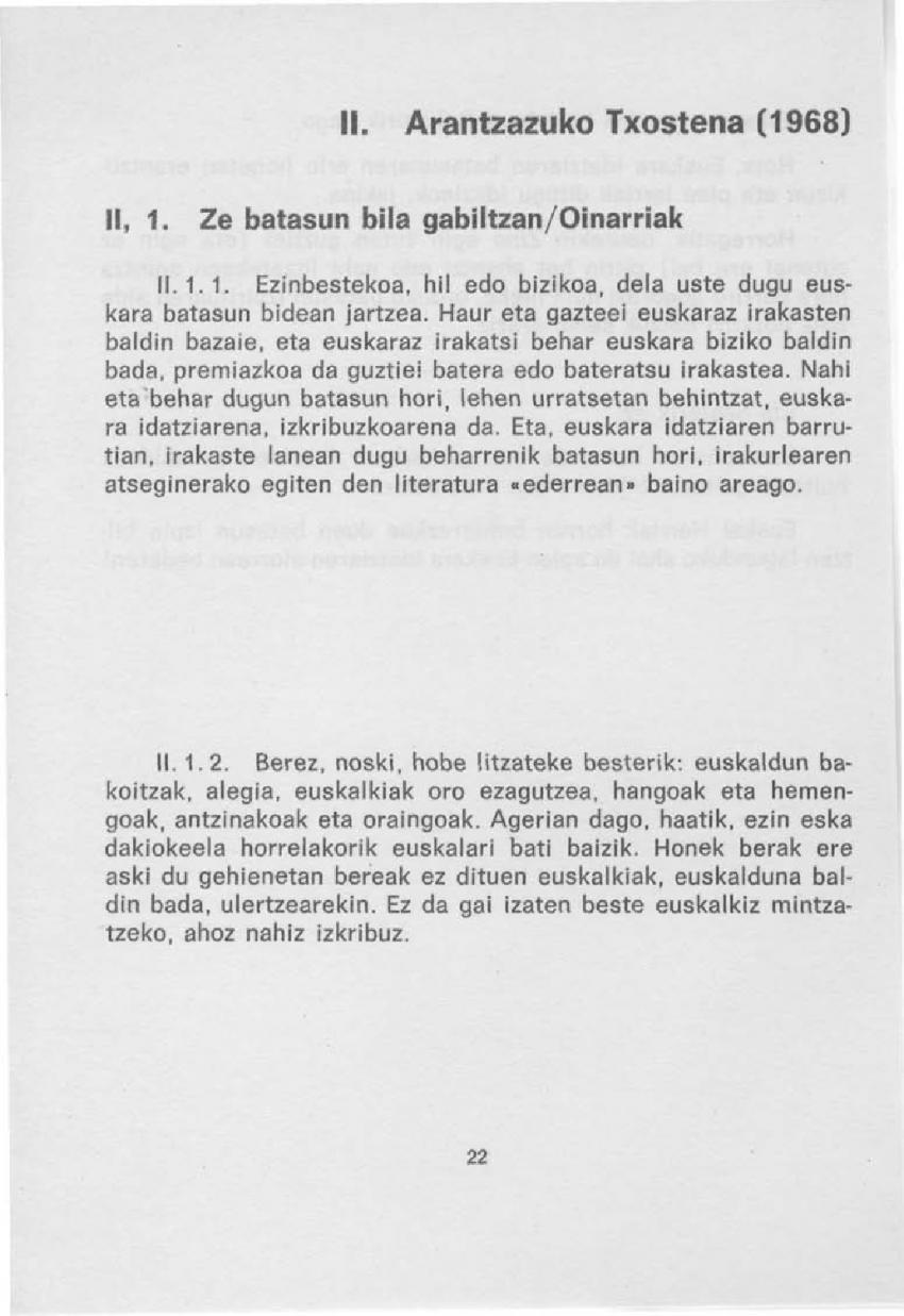 Arantzazuko txostena (1968)