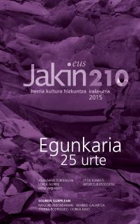 Jakin 210.  2015